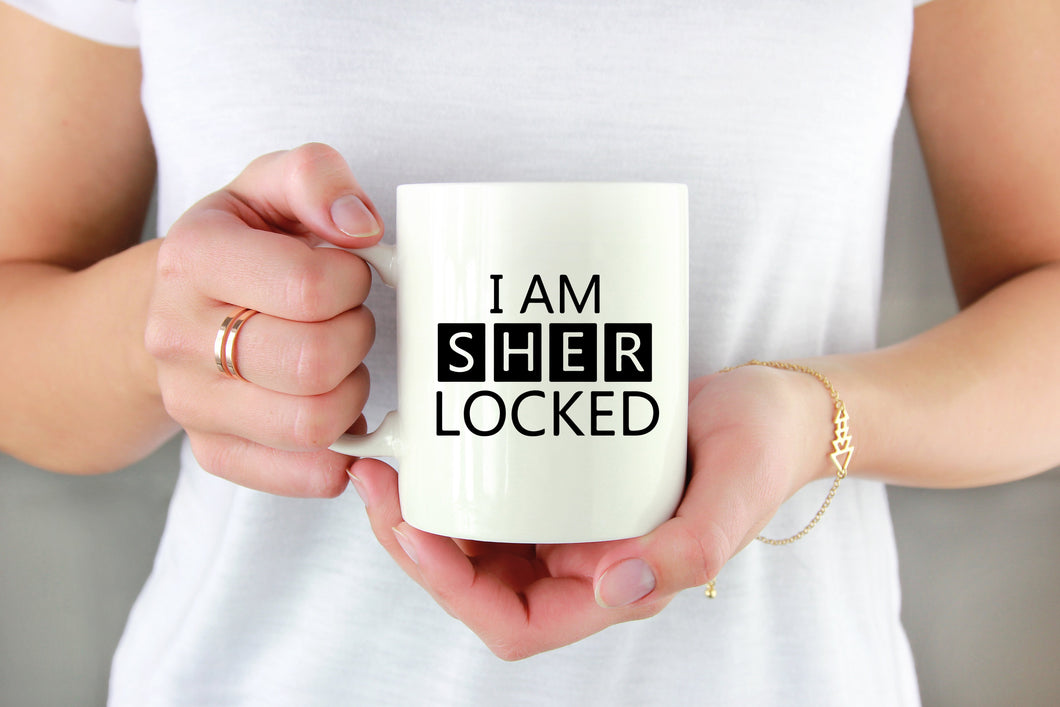I Am Sherlocked Vinyl Decal