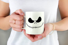 Load image into Gallery viewer, Skeleton Face Vinyl Decal
