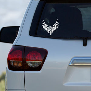 Supernatural Anti-Possession with Wings Decal on Car