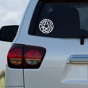 Supernatural Devil's Trap Decal by Freak + Pocky