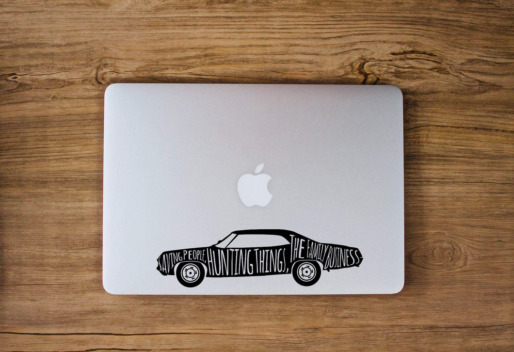 Supernatural Impala Decal by Freak + Pocky