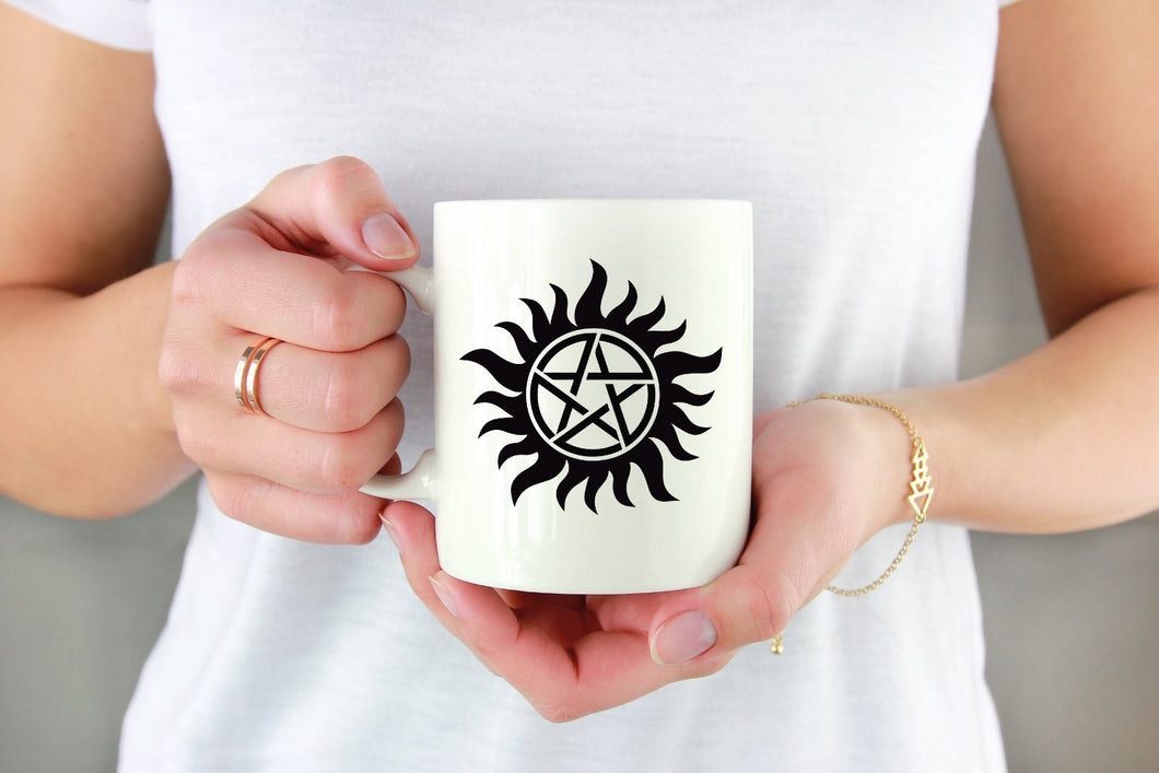 Supernatural Anti-Possession Decal by Freak + Pocky