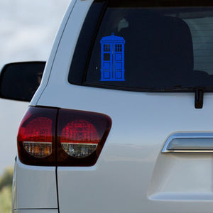 TARDIS Decal by Freak + Pocky