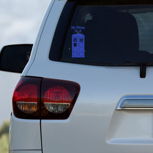 My Patronus Is A TARDIS Decal by Freak + Pocky