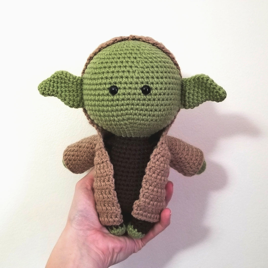 Yoda the Galaxy Master Original Poppet by Freak + Pocky