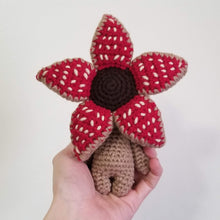 Load image into Gallery viewer, Mini Size Baby Demogorgon Crocheted Poppet Doll by Freak + Pocky