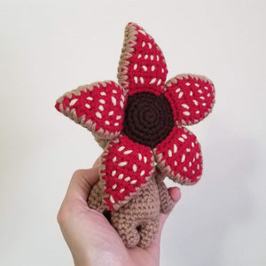 Mini Size Baby Demogorgon Crocheted Poppet Doll by Freak + Pocky