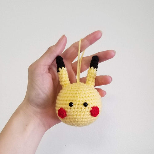 Pikachu Crocheted Poppet Hanger Ornament by Freak+ Pocky