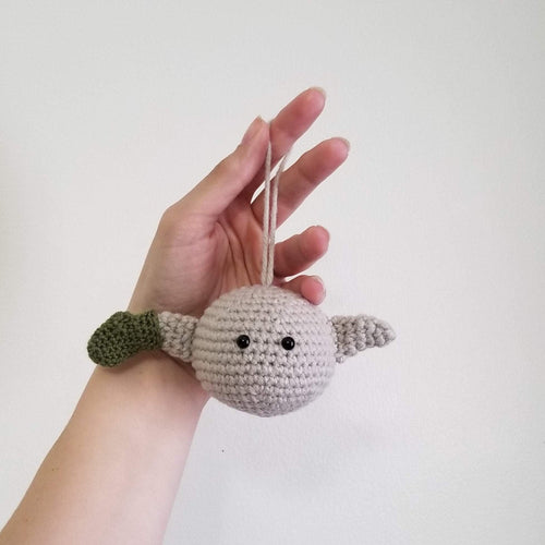 Dobby the Sock Elf Crochet Poppet Hanger Ornament by Freak + Pocky
