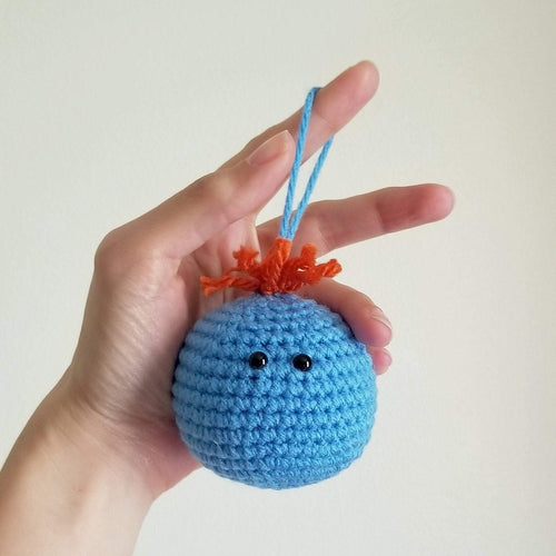 Meeseeks Crocheted Poppet Hanger Ornament by Freak + Pocky