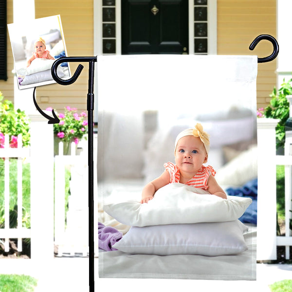 Custom Photo Outdoor Garden Flag Courtyard Flag - To My Baby (12in x 18in)