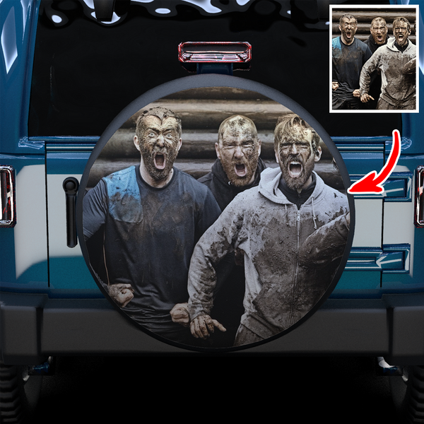 Extra 20% OFF THE 2ND-Custom Your Photo On Spare Tire Cover