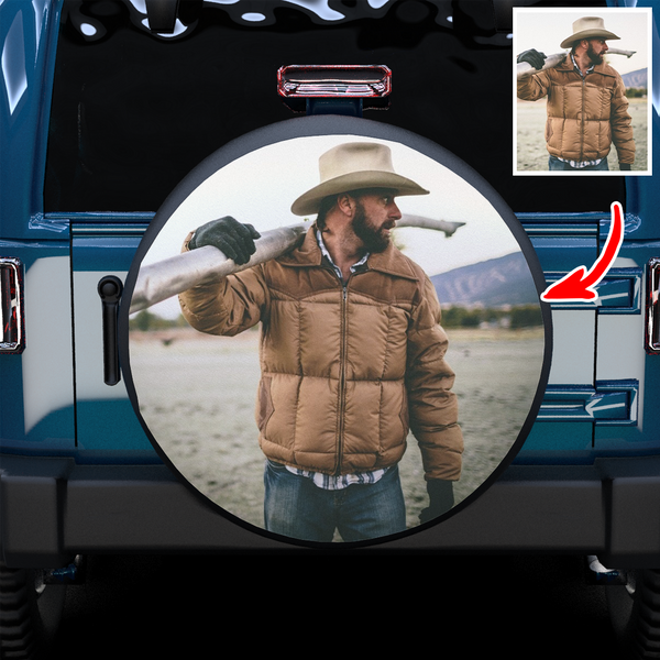 Custom Photo On Spare Tire Cover-Extra 20% OFF THE 2ND