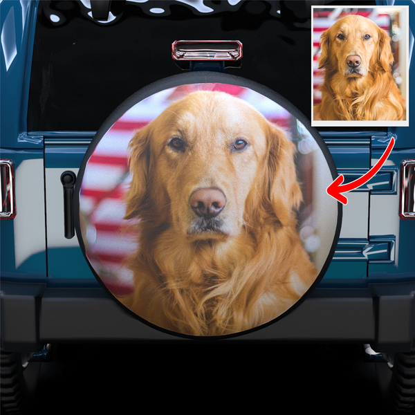 Extra 20% OFF THE 2ND-Custom Your Own Spare Tire Cover For Jeep/RV/Camper/SUV