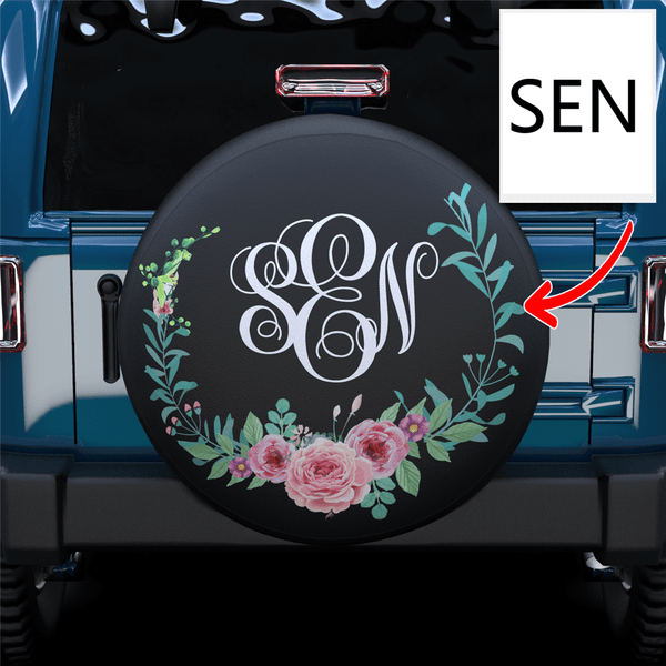 Extra 20% OFF THE 2ND-Custom Monogram Spare Tire Cover For RV