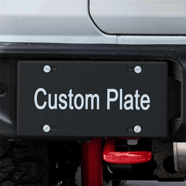 20% OFF THE 2ND-Custom Your Own Text Licence Plate