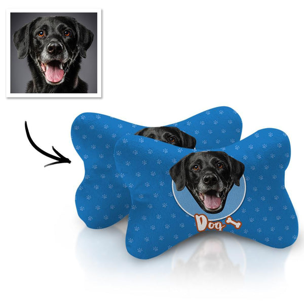 Custom Face Car Neck Pillow Dog Theme With Your Photo