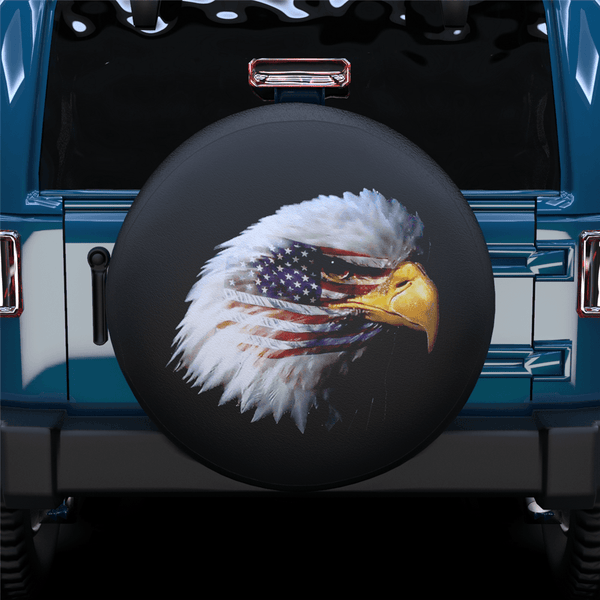 American Eagle Spare Tire Cover For Jeep/RV/Camper/SUV