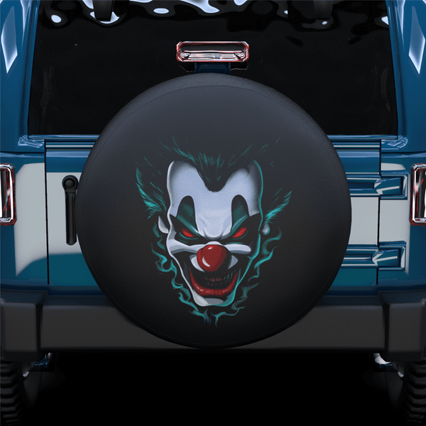Clown Face Spare Tire Cover