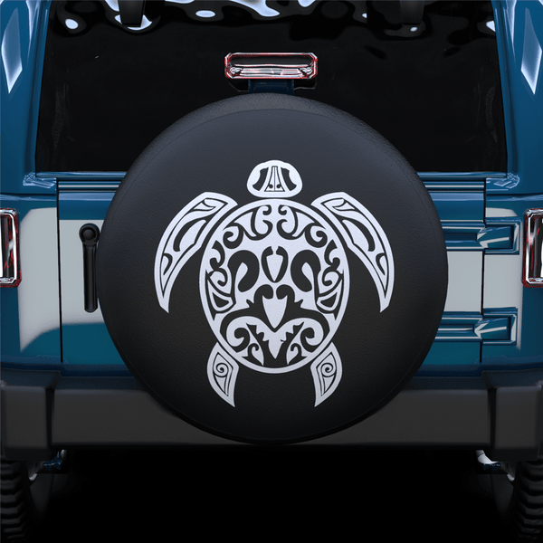 Art Turtle Spare Tire Cover For Jeep/RV/Camper/SUV