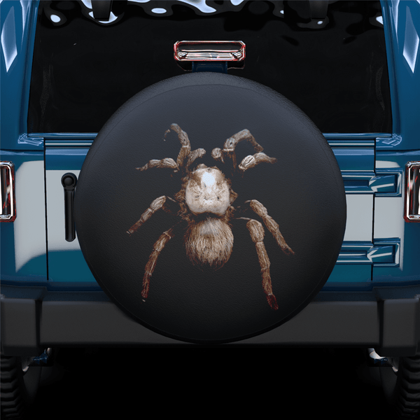 Huge Spider Spare Tire Cover For Jeep/RV/Camper/SUV