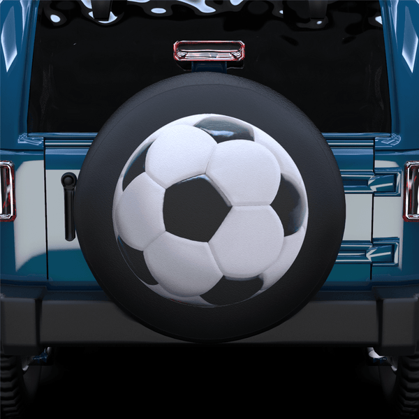 Football Spare Tire Cover For Jeep/RV/Camper/SUV