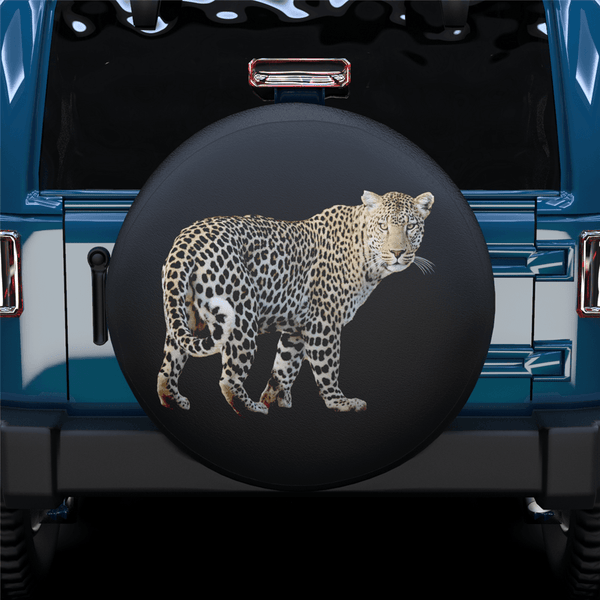 Tiger Full Body Spare Tire Cover For Jeep/RV/Camper/SUV