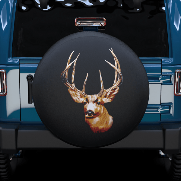 Little Deer Spare Tire Cover For Jeep/RV/Camper/SUV