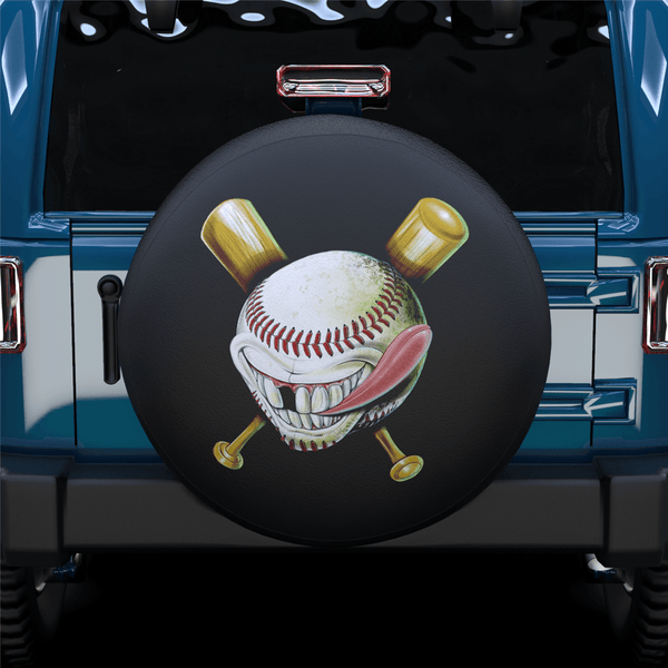 Baseball Spare Tire Cover For RV