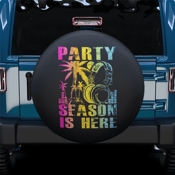Party Season Spare Tire Cover For RV