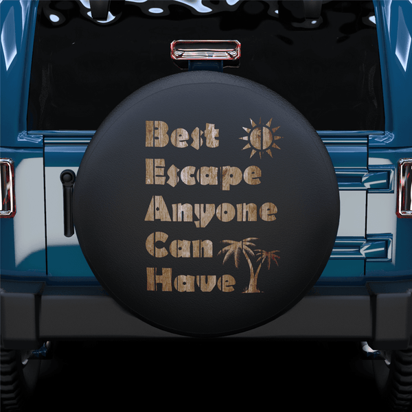 Best Escape Spare Tire Cover For Jeep/RV/Camper/SUV