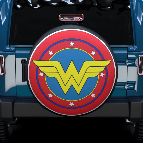 Wonder Woman Spare Tire Cover For SUV
