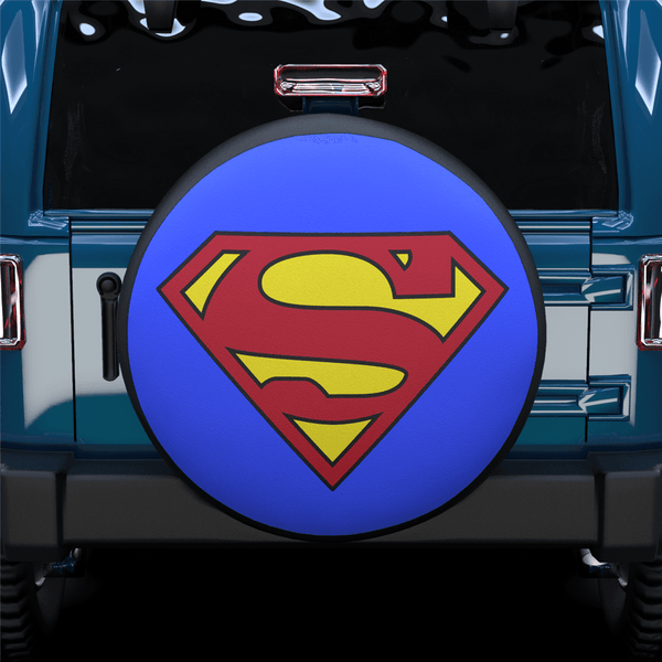 SUPERMAN Spare Tire Cover For RV