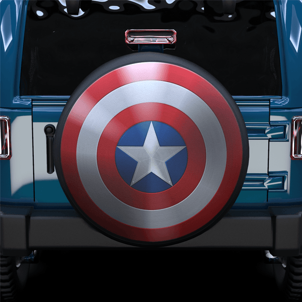 Captain America Spare Tire Cover For SUV