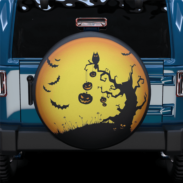 Halloween Spare Tire Cover