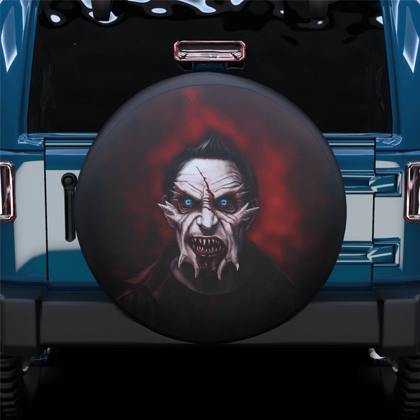 Halloween Zombie Spare Tire Cover