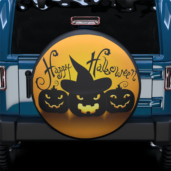 Happy Halloween Spare Tire Cover For RV