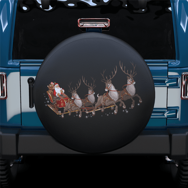 Santa Claus's reindeer Spare Tire Cover For RV