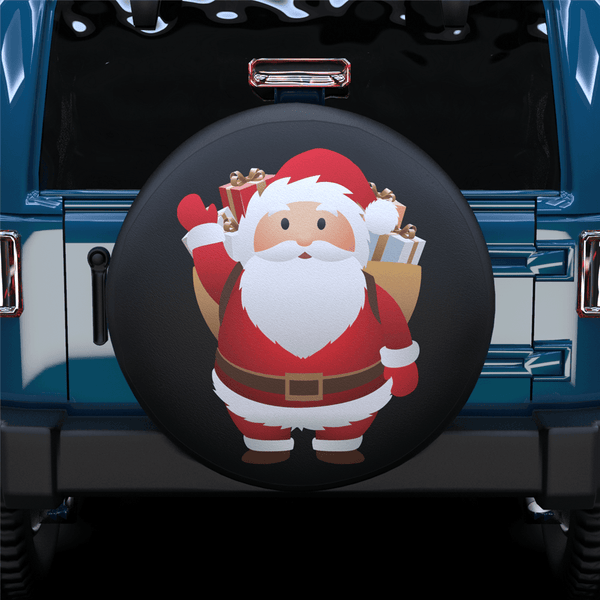 Santa Claus Spare Tire Cover For RV