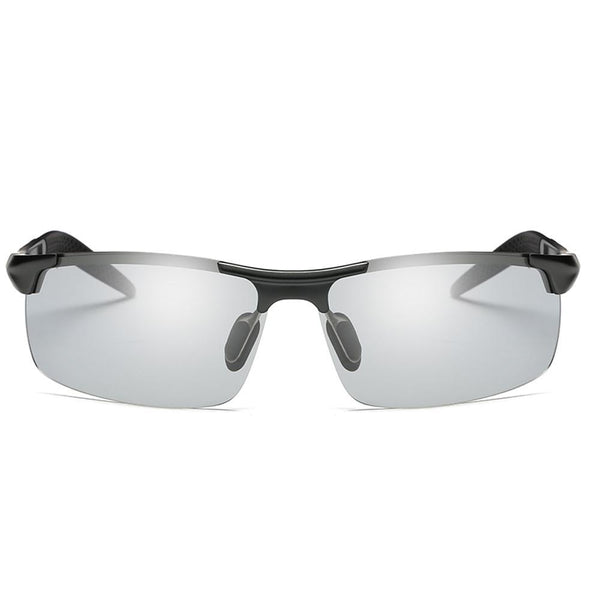 Sunny - Photochromic Polarized Sunglasses - Black/Grey