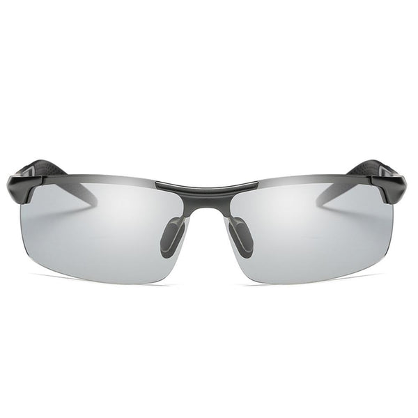 Sunny - Photochromic Polarized Sunglasses - Gun/Grey