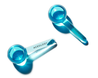 Blue Ice Globe Facial Massager