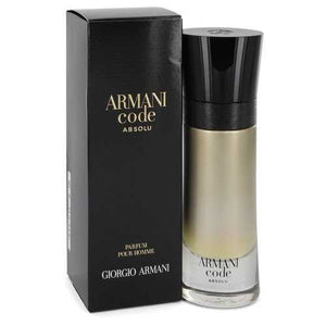 Armani Code Absolu by Giorgio Armani Eau De Parfum Spray 2 oz (Men)