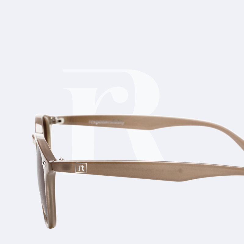 sunglasses made of ocean plastic kai nude brown responseability
