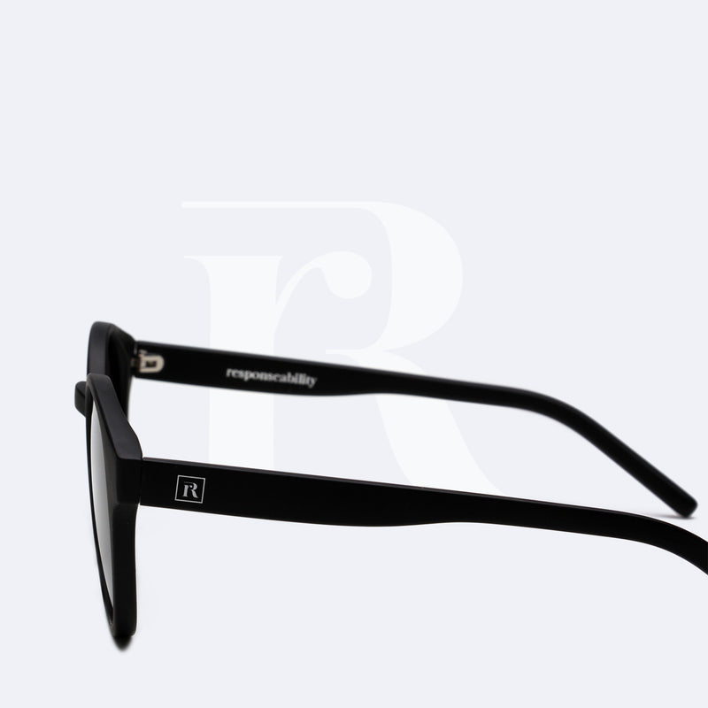 sunglasses made of ocean plastic nesia matte black responseability