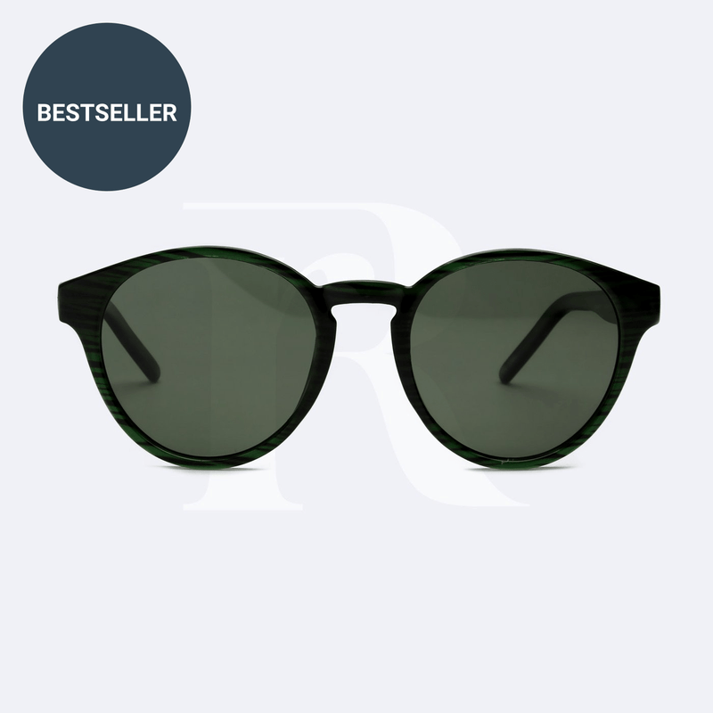 sunglasses made of ocean plastic nesia green responseability