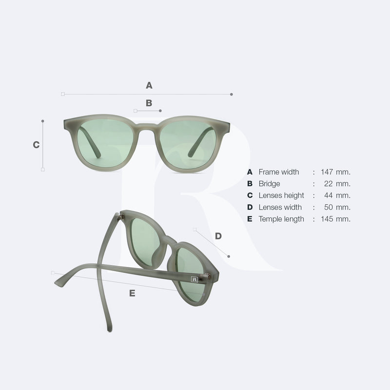 sunglasses made of ocean plastic pasha grey responseability