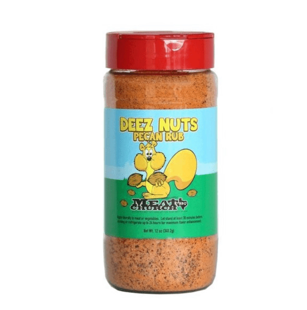 Meat Church Deez Nuts Pecan Rub - Full Throttle Barbeque
