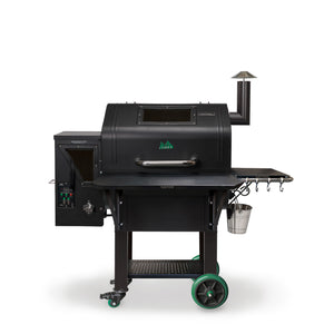 Green Mountian Grills Daniel Boone Prime WIFI Pellet Grill Black Hood - Full Throttle Barbeque