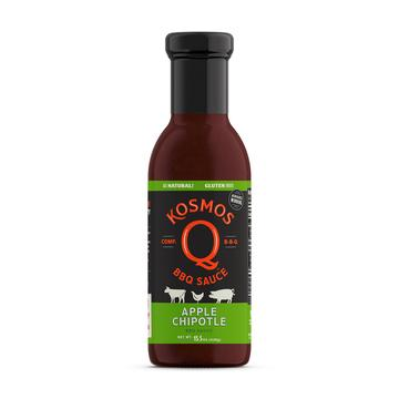 Kosmos Q Sweet Apple Chipotle BBQ Sauce - Full Throttle Barbeque